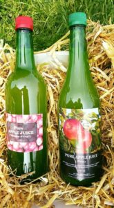 Handpicked apple juice